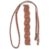 "5/8"" Harness Barrel Rein: 3 Plait"