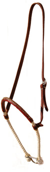 CST  Leather Covered Rope Noseband