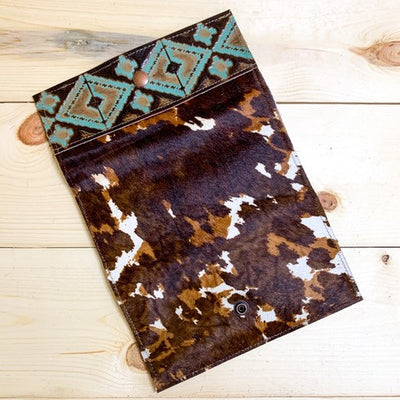 Tri Color Cowhide Wallet