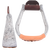 Martin Saddlery Engraved Aluminum Stirrups