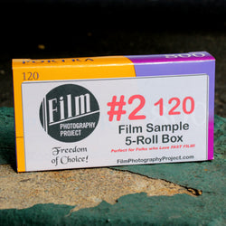 120 #2 Film Sampler Box (5-Roll Box / BW and Color)