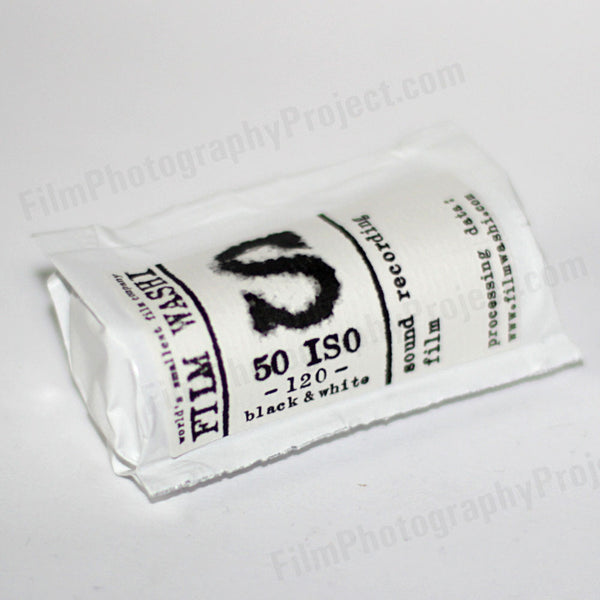 120 BW Film - Film Washi S (1 Roll)