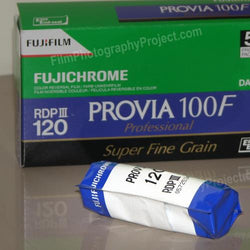 120 Color Slide Film - Fujichrome Provia 100F (Single Roll)