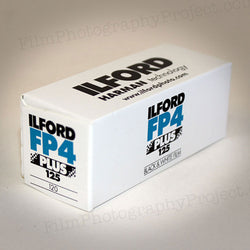 120 BW Film Ilford FP4 125 (Single Roll)