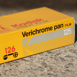126 BW Film - Verichrome Pan (12 exp roll)
