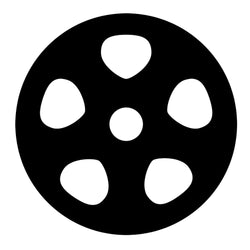 Film Supplies - 8mm 50 ft Plastic Reel