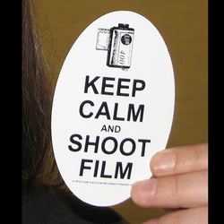 Sticker - Keep Calm And Shoot Film Sticker (1 Sticker)