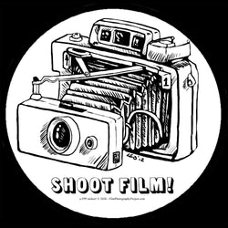 Sticker - Shoot Film - Automatic Land Camera (1 Sticker)