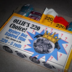 220 Film - OLLIE'S CHOICE Expired Mystery Box (5 Rolls)