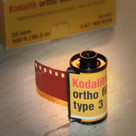 35mm BW Film - Kodak Kodalith (Vintage Stock 1-Roll)