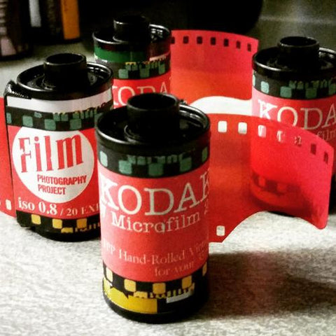 35mm BW Film - Kodak Positive Microfilm (1 Roll)