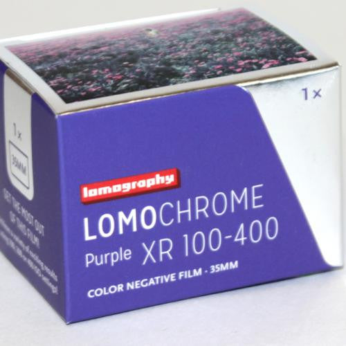35mm Color - LomoChrome Purple XR 100-400 (1 Roll)