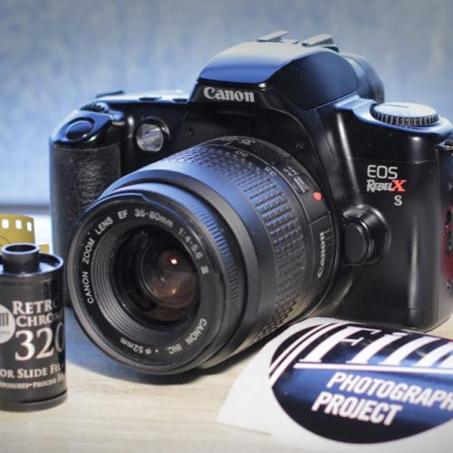 35mm Film Camera - Canon Rebel Xs SLR (Vintage)