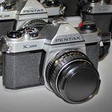 35mm Film Camera - Pentax K1000 SLR / 50mm f2 (Vintage)