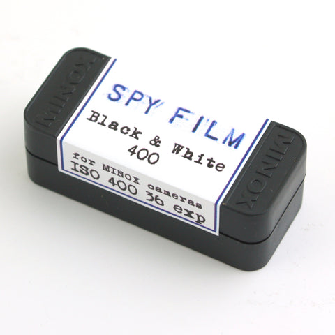 Minox Subminiature Spy Film - BW 400 Negative
