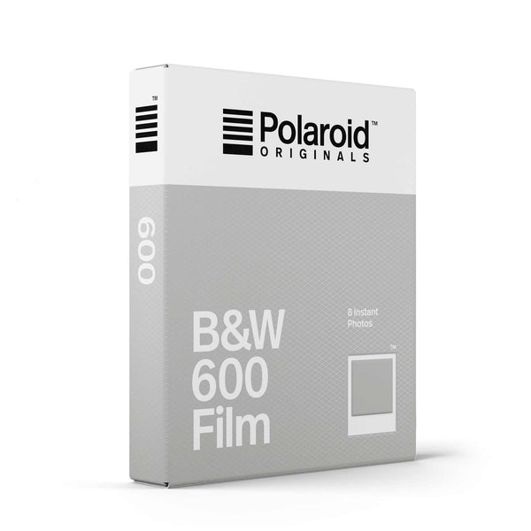 Polaroid 600 BW Film (For Vintage Polaroid 600 Cameras)