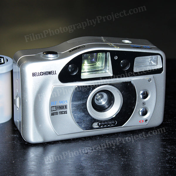 35mm Film Camera - BELL + HOWELL BF 905 (Silver Vintage)
