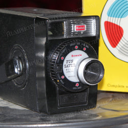 Regular 8mm Movie Camera - Kodak Brownie 8 (Vintage - Black)