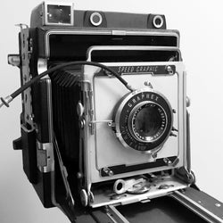 4x5 Film Camera - Graflex Speed Graphic (Vintage)