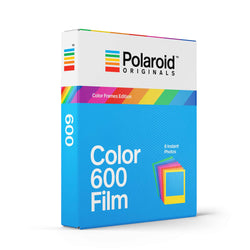 Polaroid 600 Color Film w/ Color Frames (For Vintage Polaroid 600 Cameras)