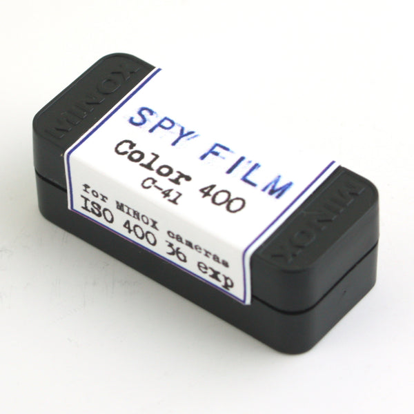 Minox Subminiature Spy Film - Color 400 Negative