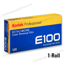 120 Color Slide Film - Kodak Ektachrome E100 (1 Roll)