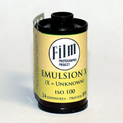 35mm BW Film - Emulsion X High Grain (1 Roll)