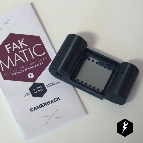 FakMatic 35mm to 126 Adapter