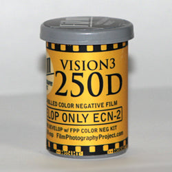 35mm Vision 3 Film - Kodak Vision3 250D (1 Roll)