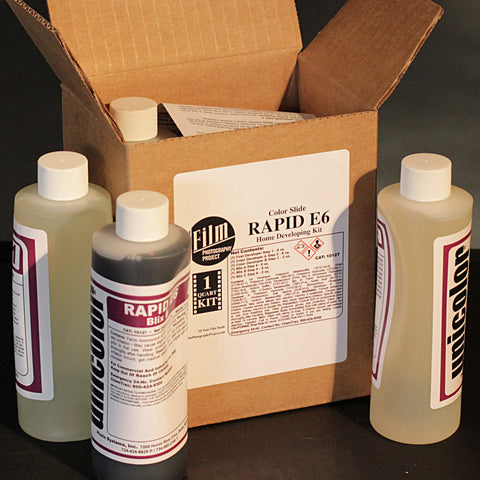 Darkroom Supplies - FPP E6 Color Slide Ektachrome Development Kit