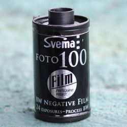 35mm BW Film - Svema Foto 100 (1 Roll)