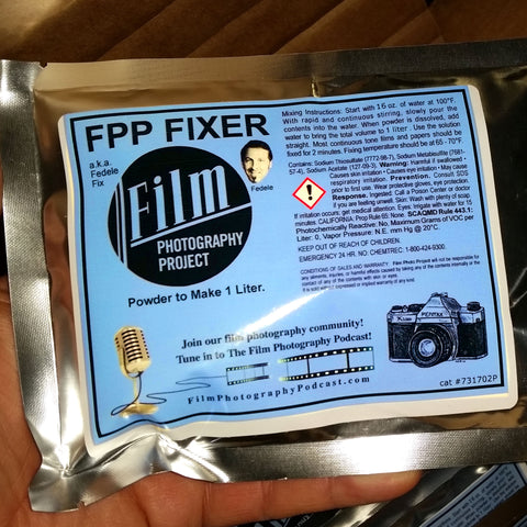 Darkroom Supplies - FPP Fixer (1 Liter)