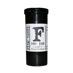 120 BW Film - Film Washi F (1 Roll)