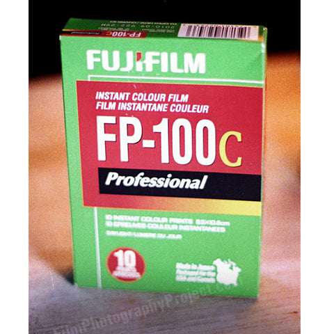 Polaroid Type 100 Pack Film - FP-100c (1 Pack)