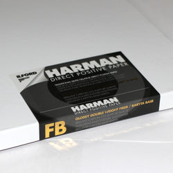 8x10 Positive Paper - Ilford Harman Direct Positive FB1K (25 Sheets)