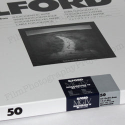 Paper - 11x14 Ilford Multigrade IV RC Pearl DeLuxe (50 Sheets)