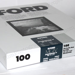 Paper - 8x10 Ilford Multigrade IV RC Pearl DeLuxe (100 Sheets)