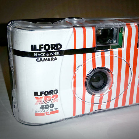 35mm Film Camera - Ilford XP2 bw One-Time Use Camera