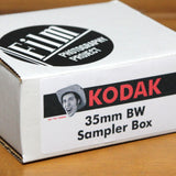 35mm BW Film - Kodak BW Sampler Box (5 Rolls)