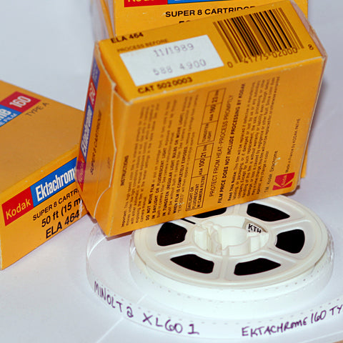 Develop / Scan Service - Vintage Defunct Super 8 / Regular 8mm Formats