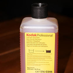 Darkroom Supplies - Kodak Indicator Stop Bath (16oz to make 8 gallons)