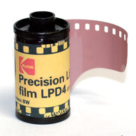 35mm BW Film - Kodak LPD4 High Contrast (1 Roll)