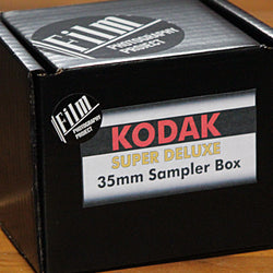 35mm Color - Kodak Color/BW DELUXE Sampler Box (13-Rolls + pin)