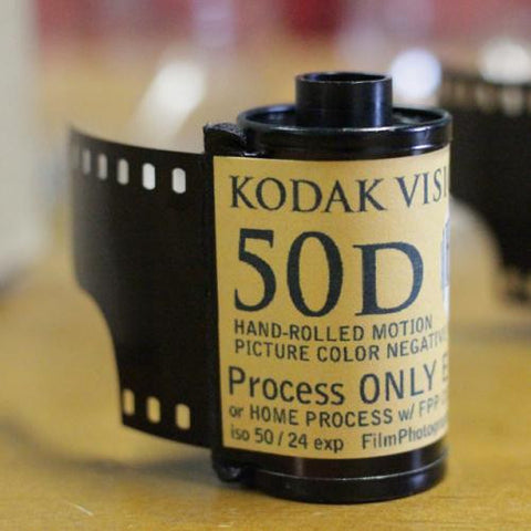 35mm Vision 3 Film - Kodak Vision3 50D (1 Roll)