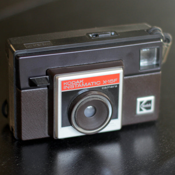 FILM CAMERA - 126 Kodak Instamatic X-15F (Vintage - Tested)