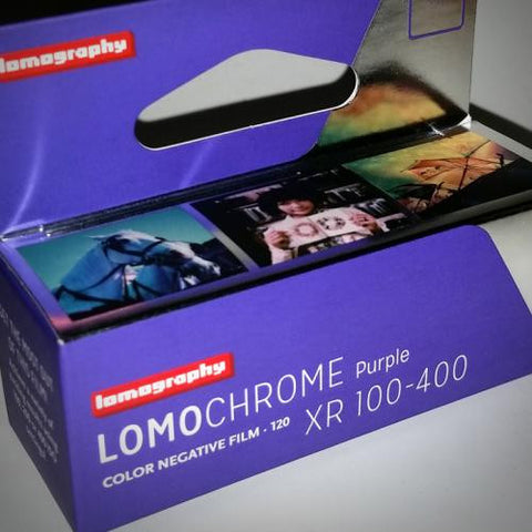 120 Color Film - LomoChrome Purple XR 100-400 (1 Roll)