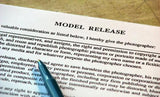 Model Release Form (Pad of 50 sheets)