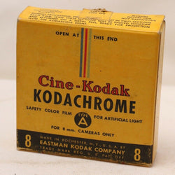 Develop / Scan Service - Vintage Kodachrome Movie Film (as BW Negative)