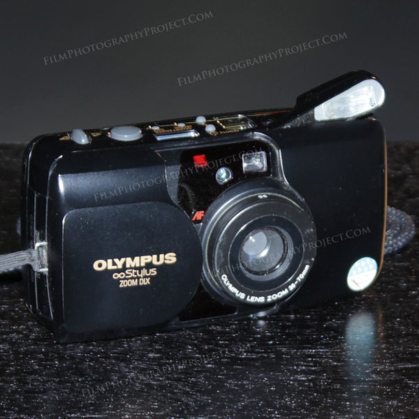 35mm Film Camera - Olympus Stylus Zoom Original (Vintage)