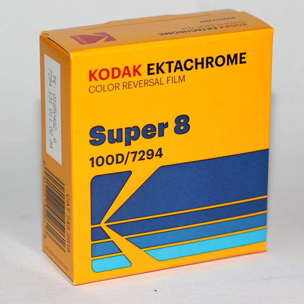 Super 8 Film - Kodak Ektachrome 100D Color Positive Film